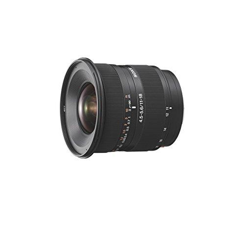 SAL1118, Ultra-Weitwinkel-Zoom-Objektiv (11-18 mm, F4,5-5,6, A-Mount APS-C, geeignet für A77/ A58 Serien) schwarz