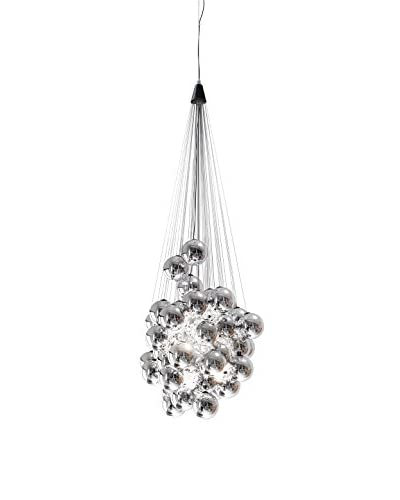 Luceplan hanglamp LED Stochastic D87Sp chroom
