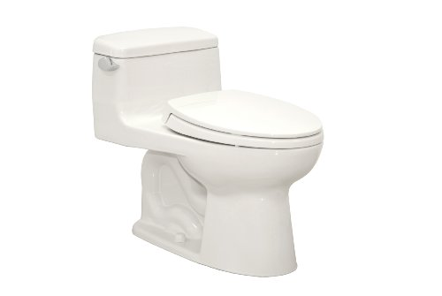 TOTO MS864114-01 Supreme Elongated One Piece Toilet, Cotton White