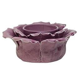 Scentsy Petal Purple Candle Warmer