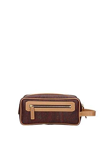 Beauty Cases Etro Uomo PVC Check Classico Etro 033929921600 Multicolor 12x12x24 cm