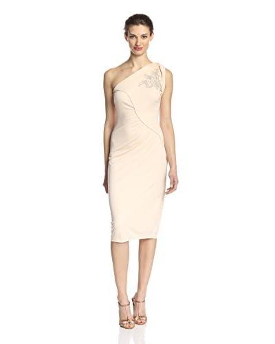 Badgley Mischka Women's One Shoulder Dress
