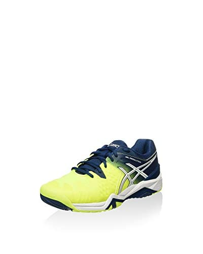 Asics Zapatillas Deportivas Gel-Resolution 6 Amarillo / Azul