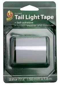 Amazon.com: Duck Tail Light Tape - Clear: Office Products