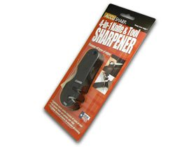 Accusharp Black Handle Tungsten Carbide 4-In-1 Knife And Tool Sharpener