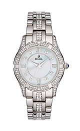 Bulova's Women's Crystal Collection watch #96L116
