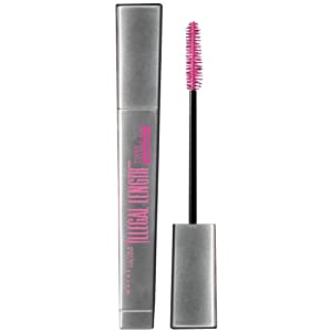 Maybelline New York Illegal Length Fiber Extensions Waterproof Mascara, Very Black, 0.22 Ounce