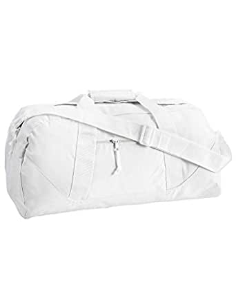 Liberty Bags Game Day Large Square Duffel OS WHITE