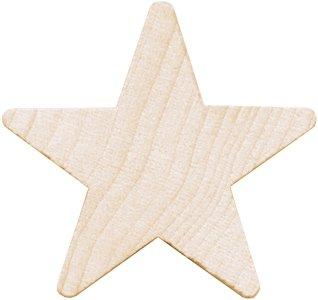 Wood Turning Shapes-Star 5/8