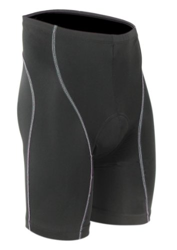 Buy Low Price Pace Sportswear Platinum curve 8-panel gel shorts, blk – L (10-0015-3)