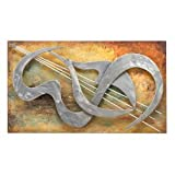 Beautiful Song Metal Wall Art Multi Color Abstract Music Musical 32
