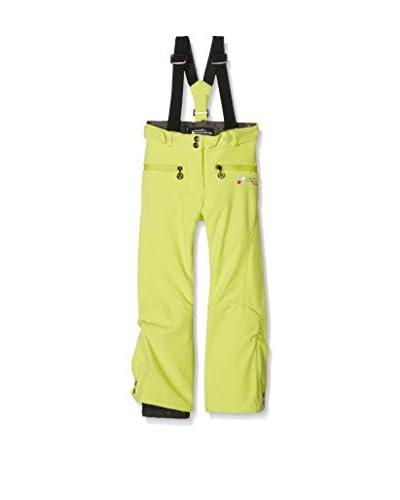 Peak Mountain Pantalone Softshell Fafuzzi [Verde Chiaro]
