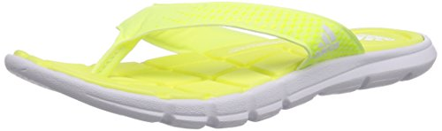 adidas Adipure 360 Thong, Ciabatte da spiaggia/piscina Unisex - adulto, Giallo (Gelb (White/Light Flash Yellow S15/Semi Solar Yellow)), 39 1/3