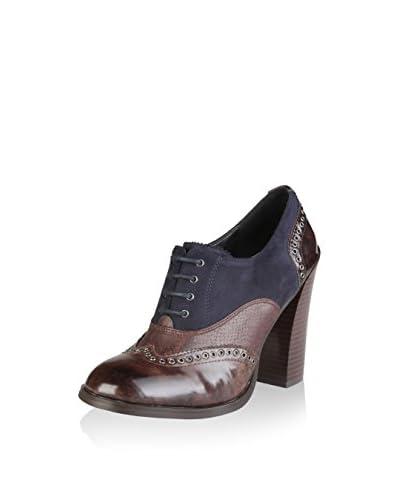 VERSACE 19.69 Zapatos abotinados Arlette Marrón / Antracita