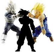 Picture of Jakks Pacific Dragon Ball Z Action Figure SS Vegeta-SS Gohan-Mystery Figure - Series 8 (B003T76UHI) (Dragon Ball Action Figures)