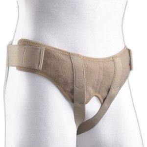 Florida Orthopedics Soft Form Hernia Belt - #67-350500 - Size Medium - Completely Adjustable Without Metal Snaps or Buckles