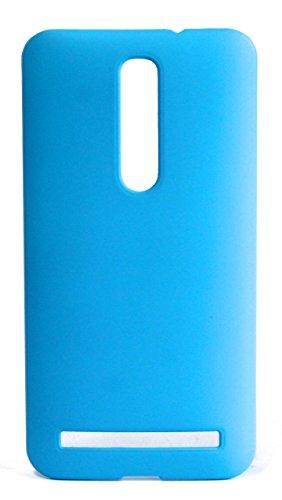 ASUS ZenFone 2 スリムフィットケース AIR SLIM DESIGN [ ZE551ML / ZE550ML 5.5インチ SIMフリー LTE 楽天モバイル版 対応 ] 薄型軽量デザイン16g ワンタッチ装着 Slim Fit Cover Case PCハード素材MY WAY 専用パッケージ:全7色 (ASUS ZenFone 2 (ZE551ML), Sky Blue (水色))