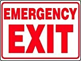 EMERGENCY EXIT 18