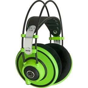 AKG Q 701 Quincy Jones Signature Reference-Class Headphones, Lime