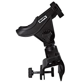 Bait Caster / Spinning Rod Holder w/ 449 Clamp Mount