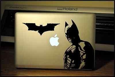 Apple Macbook Pro & Air Laptop Decal/Sticker: The Dark Knight-Batman front-244625