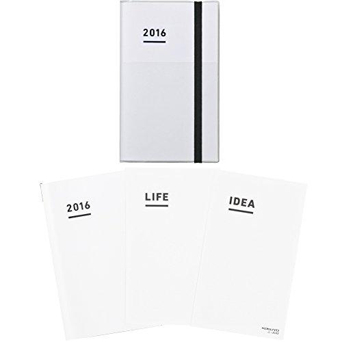 コクヨ ジブン手帳 mini 2016年 ファーストキット 11月始まり B6スリム ホワイト ニ-JFM1W-16