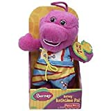 "Fisher-Price 8"" Barney Bathtime Pal Plush Doll"