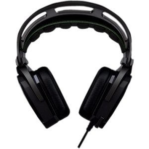 Razer Tiamat Elite 7.1 Surround Sound Analog Gaming Headset. Razer Tiamat Elite 7.1 Surround Sound Analog Gaming Headset. Surround - Mini-Phone - Wired - 32 Ohm - 20 Hz - 20 Khz - Over-The-Head - Binaural - Ear-Cup - 9.84 Ft Cable - Noise Filtering Microp
