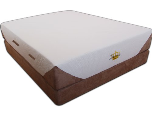 Dynastymattress New Cool Breeze 12 Inch Gel Memory Foam Mattress Cal King Size