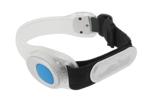 Runtastic Safety Armband Fascia da Braccio con LED Bianchi