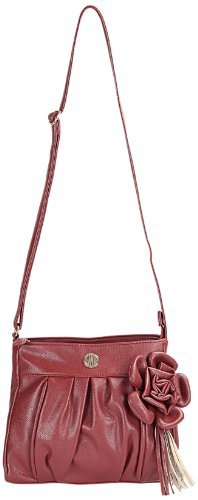 Lavie Calico Csb Flower Sling Bag (Dark Red) (multicolor)
