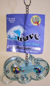 Image of Lucky Bird Toys The Wave Small Bird Toy (B0002G71WM)