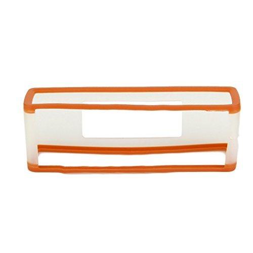 HIGHROCK TPU Gel Soft Case Cover Pouch Box Compatible for Bose Soundlink Mini Bluetooth Speaker Color Orange Transparent