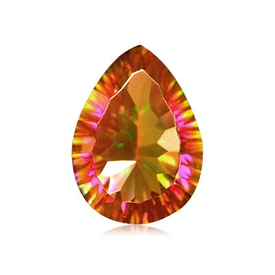 11.95 Cts of 18x13 mm AA Pear Concave Mystic
