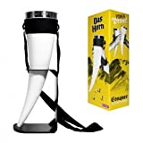 Novelty - Plastic 700ml Das Horn Cup With Neck Strap - Thumbs Up!