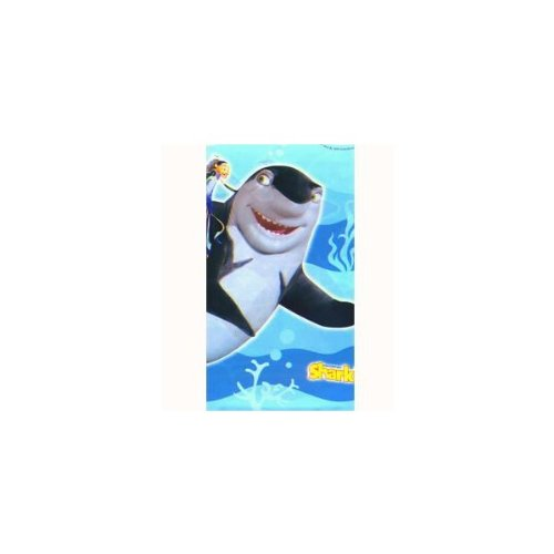 Shark Tale Plastic Table Cover (1ct)