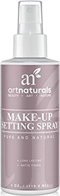 Art Naturals Makeup Setting Spray 4.0 oz Long Lasting / All Day Extender - All Natural with Aloe Vera