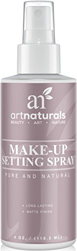 Art Naturals Makeup Setting Spray 4.0 oz Long Lasting / All Day Extender - All Natural with Aloe Vera (Elf Set Spray compare prices)