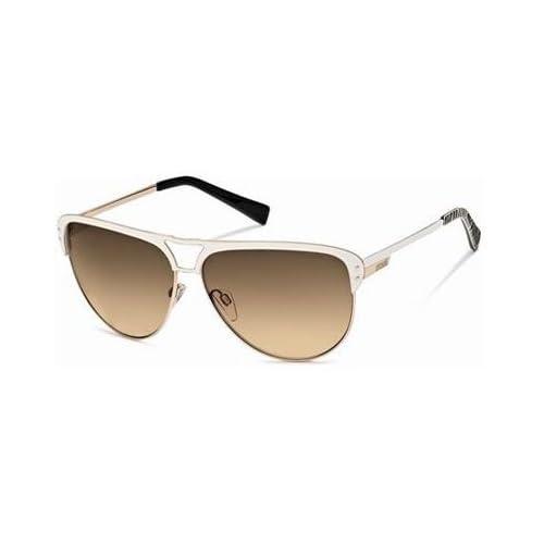 Just Cavalli Sunglasses JC 324/S WHITE 28F JC324 at Amazon Men's