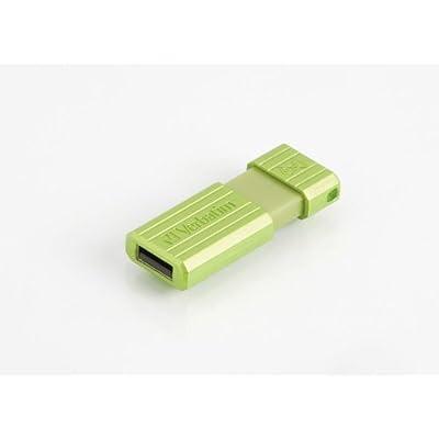 Verbatim - 47396 - Pinstripe Plist - Clé USB - 8 Go - Vert