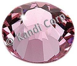 Kandi Corp Hotfix Swarovski Crystals 5mm Light Rose 16/Pkg K125-44; 3 Items/Order
