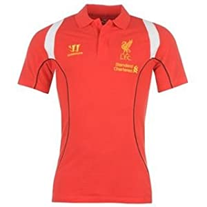 Warrior Liverpool Football Club Polo Mens Red Large