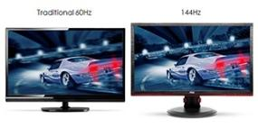 AOC 24-inch Extreme Performance 144Hz Gaming Monitor