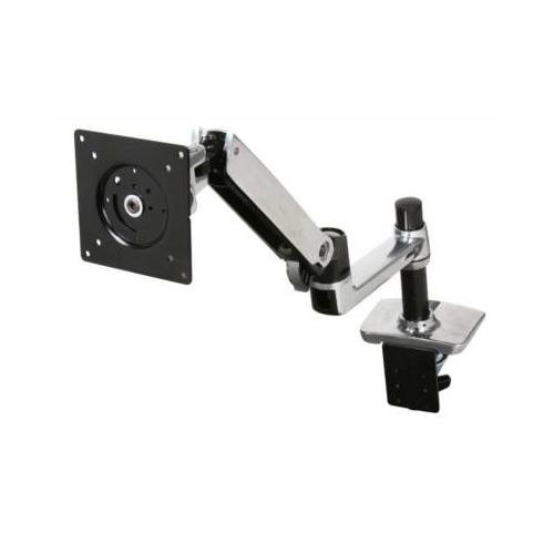 "Ergotron 45-241-026 Mounting Arm For Flat Panel Display - 24"" Screen Support - 20 Lb Load Capacity"
