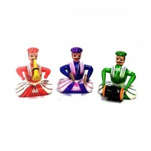 Kalaplanet Wooden Musician - Set Of 3 (3 X 3)