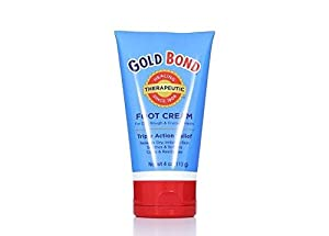 Gold Bond Foot Cream Triple Action Relief 4oz
