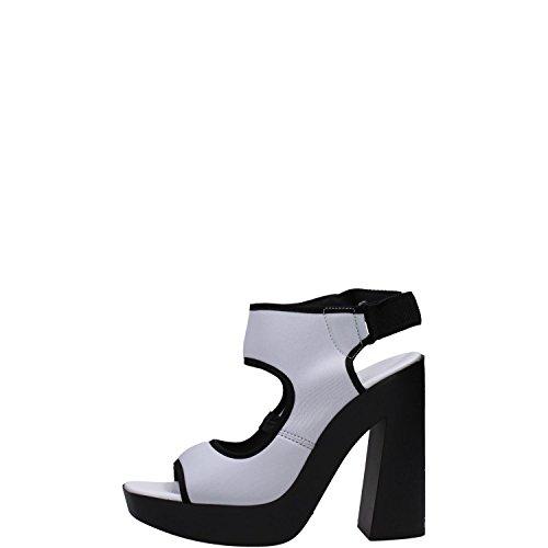 Vic Matie' 6840D Sandalo Donna Bianco/nero Bianco/nero 38