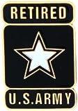 US Army Modern Logo Retired Lapel Pin or Hat Pin
