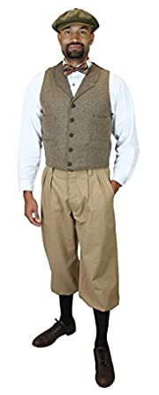 Steampunk Clothing- Men's Cotton Blend Knickers $64.95 AT vintagedancer.com