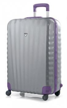 Roncato Uno SL 4-Rollen-Trolley 80 cm lila silver